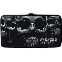 Avenged Sevenfold Women's Open Mind Skulls Girls Wallet
