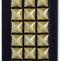 Jagger Edge Montana Studded iPhone Cover in Black/Gold