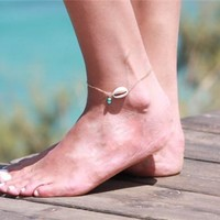 Shiny Sexy Cute Stylish Gift New Arrival Jewelry Simple Design Ladies Anklet [6768757255]