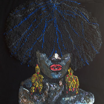 Black Beauty   T- shirt Afrocentric  natural hair shirt