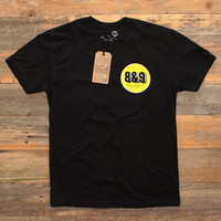 Cement Co. T Shirt Black
