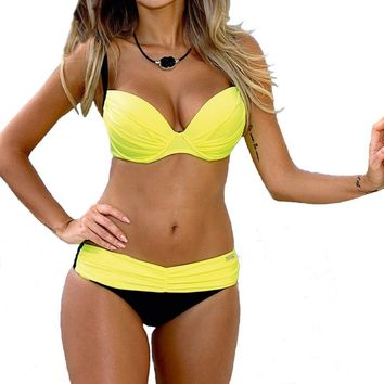 Swimsuits  Bikinis Push Up Swimwear For Women