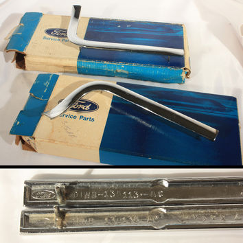 Ford Mercury Headlamp Mouldings NOS