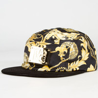 Yea.Nice Golden Mens 5 Panel Hat Gold One Size For Men 23075744201