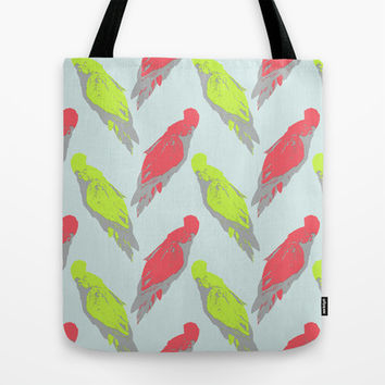 pale parrots Tote Bag by Youdesignme