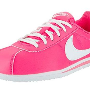 NIKE Kids Cortez Nylon (GS) Casual Shoe