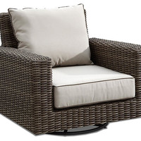 Neptune Swivel Rocking Club Chair - Backyard Living - Outdoor Essentials - Outdoor | One Kings Lane
