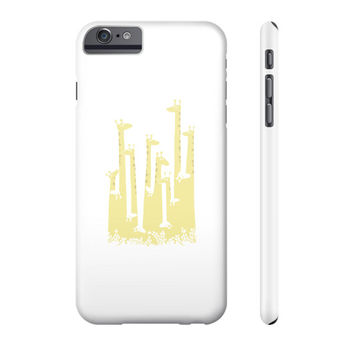 Giraffe Double Vision Phone Case