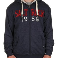 Saltrock Mens Simple Hoody Blue