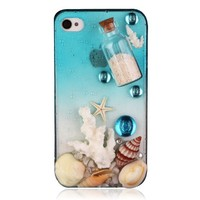 Generic Original DIY Phone Case For iPhone 5-Wishing Bottle Color Transparent