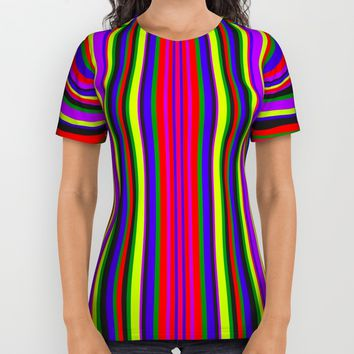 City Lines #society6 All Over Print Shirt by Azima