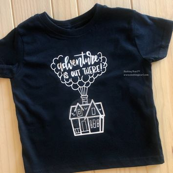 Kids Adventure Is Out There Tee