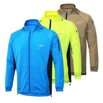 Cycling Jacket Breathable Packable Bicycle Clothing Windproof Soft Shell Coat MTB Bike Jersey