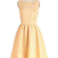 Myrtlewood Long Sleeveless A-line Picnic Poise Dress