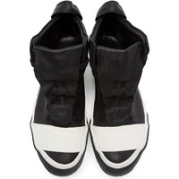 Indie Designs Lambskin Leather Bamba 1 High-Top Sneakers