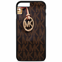 Michael Kors Logo Brown iPhone 5C iPhone 6S Plus Case