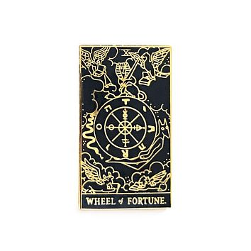 Wheel Of Fortune Tarot Card Pin