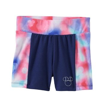 Disney's Minnie Mouse Tie-Dye Bike Shorts by Jumping Beans - Girls