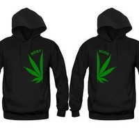 Best Buds Unisex Couple Matching Hoodies