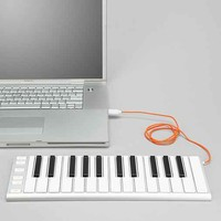 Mobile Musical Keyboard- White One