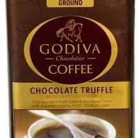 Godiva Chocolate Truffle Coffee, 12 Ounce Bag (Pack of 2)