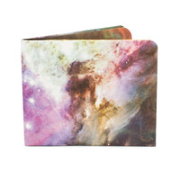 Paper-Thin Wallet Unisex for Men & Women - Galaxy Design - Made in Tyvek - Eco-friendly and 100% Recyclable