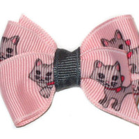 Custom Boutique KITTY CAT Baby Hair Bows  NO SLIP - Downingtown