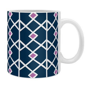 Heather Dutton Annika Diamond Orchid Coffee Mug