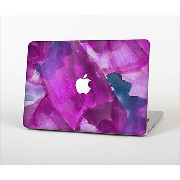 The Grunge Watercolor Pink Strokes Skin Set for the Apple MacBook Air 13""
