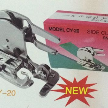 Side Cutter Foot Snap-on For  JANOME  Zigzag Household SINGER Sewing Machine Taiwan CY-20 Get a FREE fixed angle