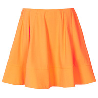 Bright Orange Crepe Skirt By Boutique - New In This Week - New In - Topshop