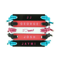 Union J 5 Pack Plaque Bracelets