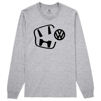 Honda Beats Volkswagen Long Sleeve T-shirt