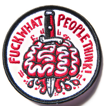 Pork Magazine Fuck What People Think Patch Multi One