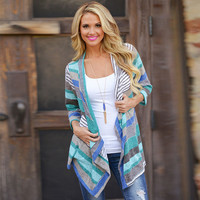 Women's Lady Casual Floral Top Blouse Three Quarter Sleeve Outwear Blazer Kimono tops Overcoat Sunblock Cardigan Red/Blue