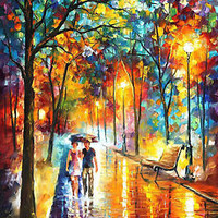 "Inside The Dream — Oil Painting On Canvas By Leonid Afremov. Size: 30""x40"""
