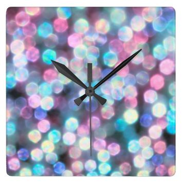 Get this lovely *** TIFFANY SNOW  *** Wall clock for your sparkling home!