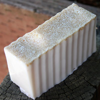 Cannoli Soap with Organic Sugar and Jojoba Beads VEGAN