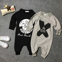 Newborn Toddler Baby Girls Boys Romper Jumpsuit One-pieces Outfits Clothing