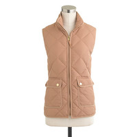 Excursion quilted vest - wool & puffer jackets - Women's outerwear - J.Crew