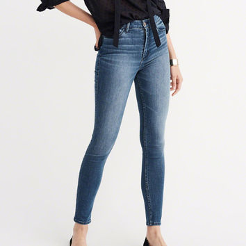 RENEW HIGH RISE SUPER SKINNY JEANS