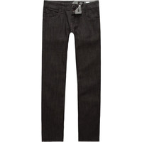 Volcom Vorta Boys Jeans Black Rinse  In Sizes