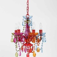 Small Rainbow Chandelier- Multi S