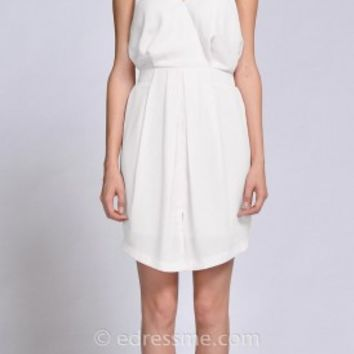 Addison A-line Day Dress by EDM Private Collection