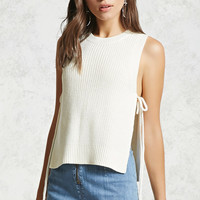 Sleeveless Sweater Knit Top