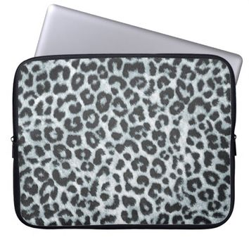 Leopard Pattern Neoprene Laptop Sleeve