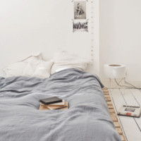 Linen fitted sheet 90 x 200 cm — Bodie and Fou - Award-winning inspiring concept store