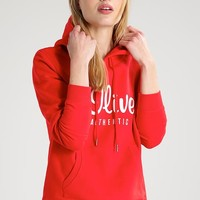 Sweatshirt - chinese red - Zalando.de