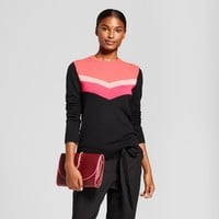 Women's Chevron Any Day Pullover - A New Day™ Coral