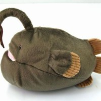 Footballfish Stuffed Toy Deep Sea Fish peluches Kuscheltiere Japanese